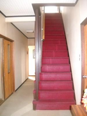 階段リフォーム カーペット張替え 和歌山市2