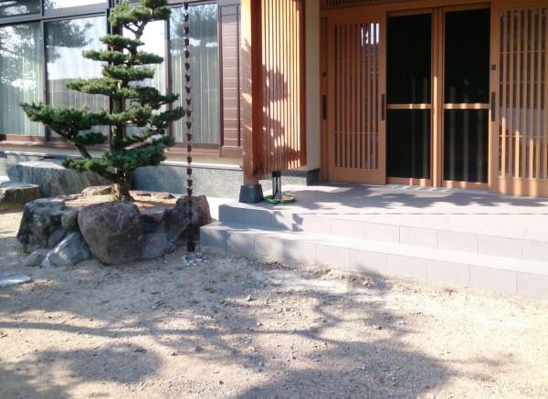 和風の玄関4