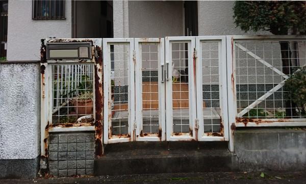 門柱・門扉改修工事 和歌山市4