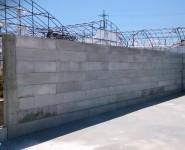 ブロック基礎 積み上げ施工例