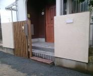 門改修工事