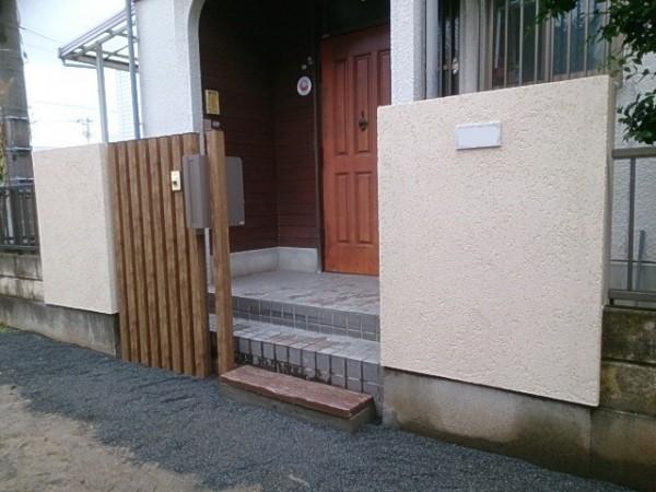 門改修工事1