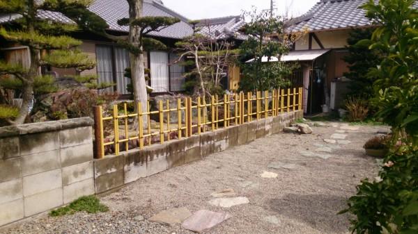 竹垣 リフォーム かつらぎ町1