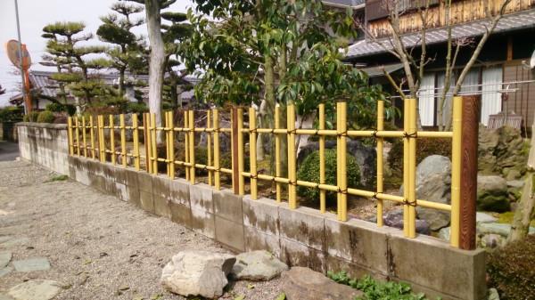 竹垣 リフォーム かつらぎ町4
