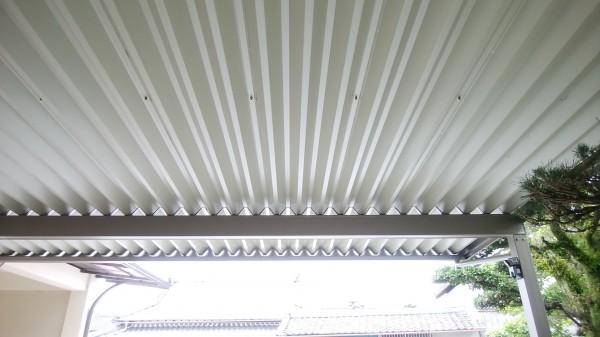 カーポート ウィンスリーポートⅡ 折板屋根タイプ 岩出市7