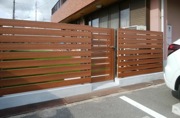 三協アルミ フレイナY1型 フェンス・門扉1