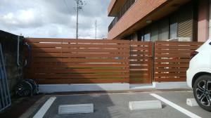 三協アルミ フレイナY1型 フェンス・門扉2