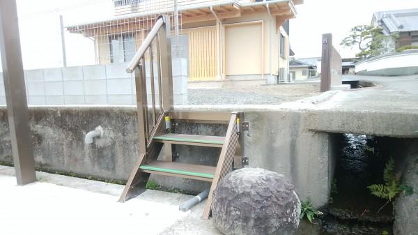 森田アルミ ステアーズ(アルミ階段)1
