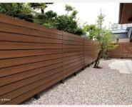 マイティウッド  ポリスチレン素材の環境にやさしいフェンス