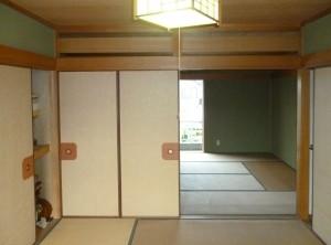 和室を洋室にリフォーム 岩出市3