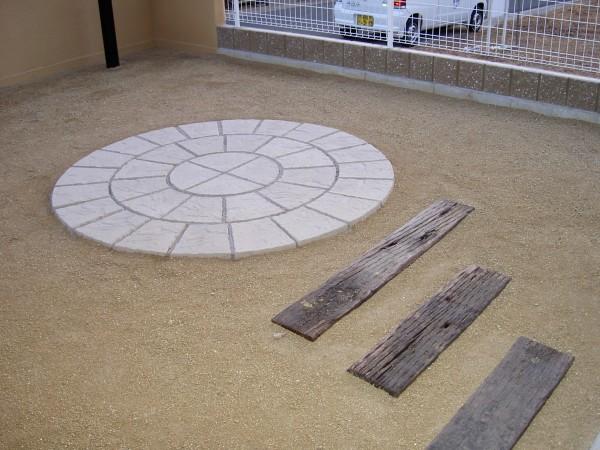 円形のテラス 紀の川市1