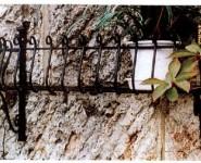 おしゃれな壁にフラワーバルコニーN-10