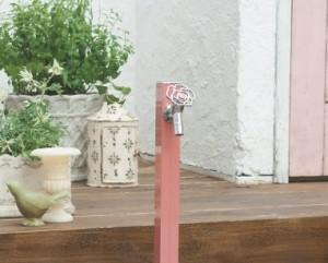 おしゃれで個性的な水栓柱 アクアルージュ3