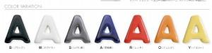ポッテ かわいいアルファベット文字 オンリーワン3