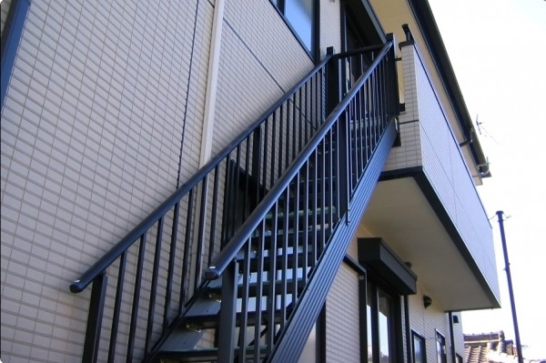 アルミ外部階段 角度調整機能付き ステアーズ2