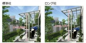 エフルージュグラン ZERO 独立テラス屋根タイプ YKK3