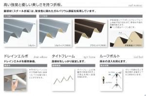 G-1SS スチール折板屋根カーポート 三協アルミ3