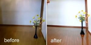 クロス・カーペット張替え Before & After6