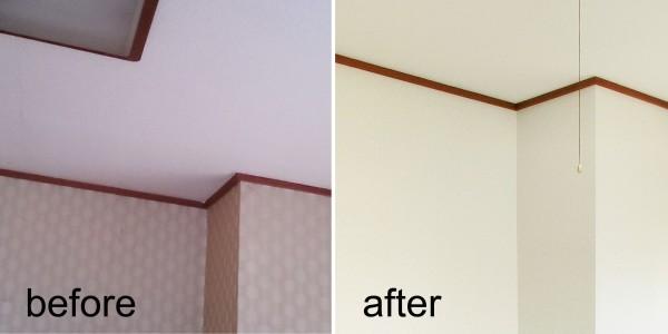 クロス・カーペット張替え Before & After4