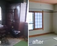 和室リフォーム Before & After